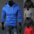 Костюмы Assassins Creed Пояса Полный Горячий Продавать 2016 Новой Англии Стиль Сплошной Цвет мужская Толстовки Кофты Куртки