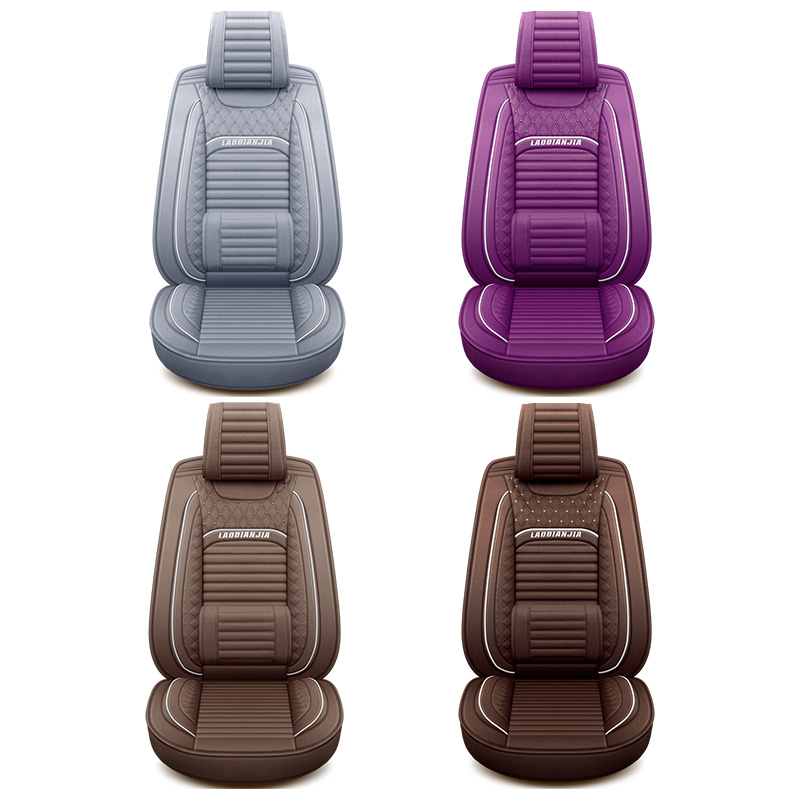 Odd Dream 5 seat Flax Automobiles Seat Covers Car Seat Cover Universal seat car styling Auto Interior Accessories Headrest in Automobiles Seat Covers from Automobiles Motorcycles