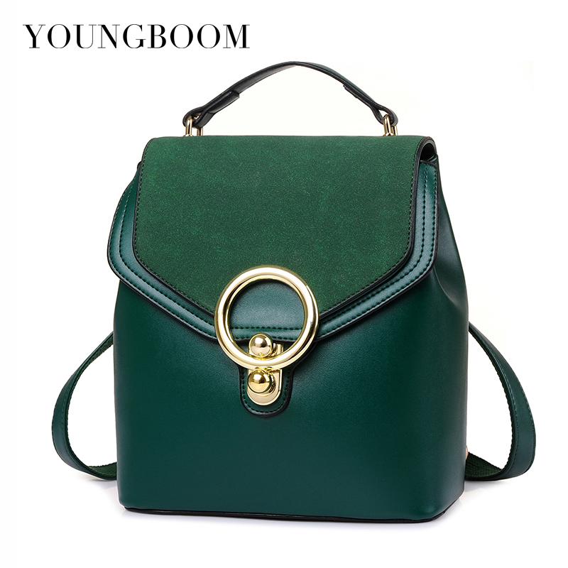 2017 New Fashion Women Tote Bag For Ladies Casual Shoulder Bags Women's Vintage Solid PU Leather Messenger Handbags High Q free shipping 2016 new fashion european style ladies tote bag women shoulder bags women messenger bags handbags ym6013