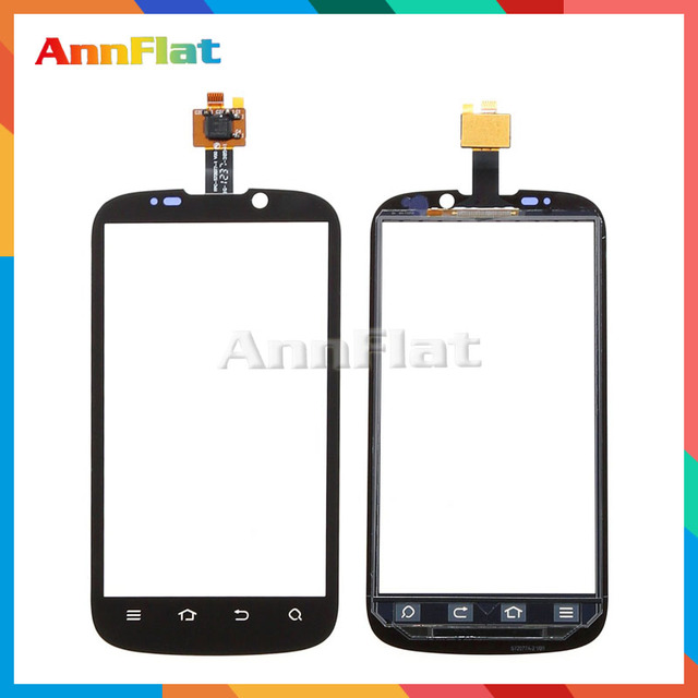 """10pcs/lot High Quality 4.3"""" For ZTE X3G V970 V970M Touch Screen Digitizer Front Glass Lens Sensor Panel Free Shipping"""