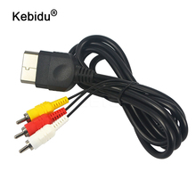 Cable-Adapter Audio-Video-Cable XBOX Converter Sony Ps2 Kebidu To AV RCA