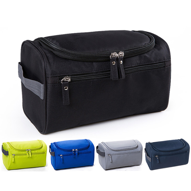 Men Business Travel Kit Wash Bag Toiletry Dopp For Camping Hiking