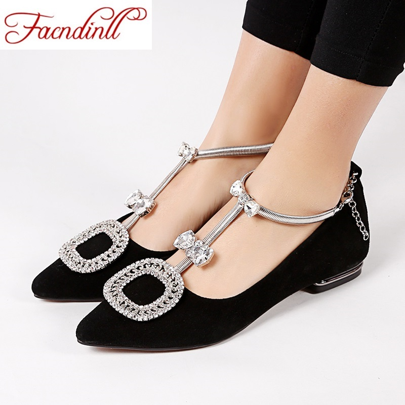 ФОТО new 2017 fashion women flats sweet ladies spring autumn shoes flats leather rome rhinestones shoes woman casual party shoes