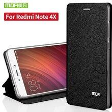 Xiaomi Redmi Note 4x Силиконовый чехол TPU назад Флип кожаный чехол оригинальный Xiaomi Redmi Note 4x Футляр принципиально ультра-тонкий САППУ 5.5