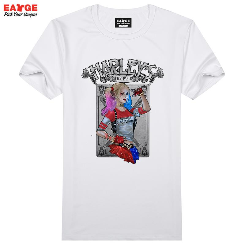 03058a490 Suicide Squad T Shirt Harley Quinn T-shirt Joker Cool Novelty Funny ...