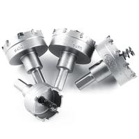 16Pcs Set 15 50mm HSS Hole Saw Sets Drill Bit Set Carbide Tip TCT Core Metalworking
