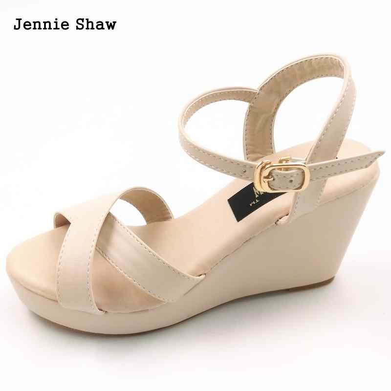 0b9a0167 Detalle Comentarios Preguntas sobre Verano moda sandalias 30 31 32 33  plataforma cuñas cómodas sandalias femeninas ligero cómodo zapatos de las  mujeres en ...