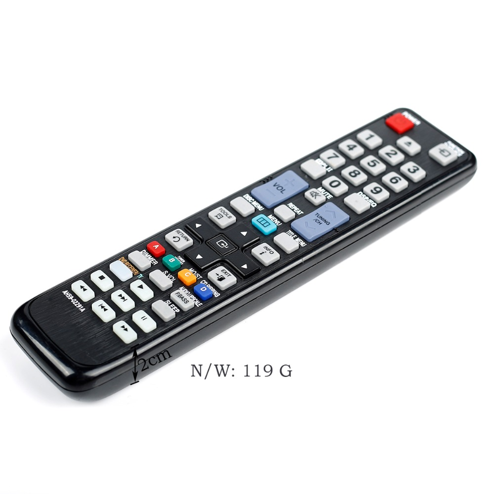 US $6 88 |New remote control for AH59 02294A AH59 02291A samsung Blu ray  DVD Player HT C550 HT C653W HT C553 HT C650W HT C555 HT C655W-in Remote