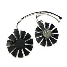 9010 t129215su pld09210s12hh FDC10U12S9-C gpu refrigerador ventilador para asus EX-GTX1060 gtx1070 dupla rx570 placa gráfica de refrigeração