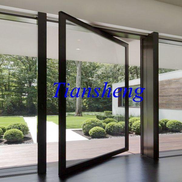 Customized Aluminium Center Pivot Door & Customized Aluminium Center Pivot Door-in Doors from Home ...