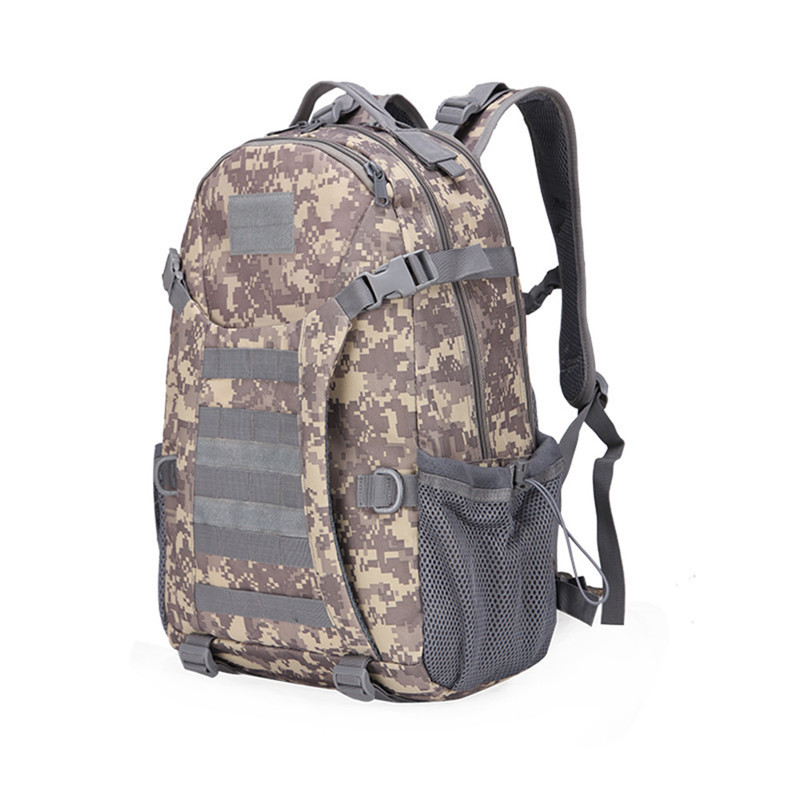 2017 Men Travel Bags Tactical Military Mountaineering Backpack Molle Camouflage Bag Outdoor Sports Camping Hiking Backpack Women