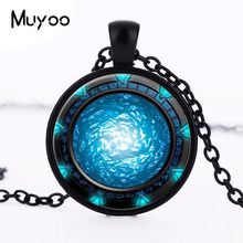 Vintage 2016 Colour silver jewelry newest Cabochon crystal necklace statement necklaces bronze arts HZ1(China)