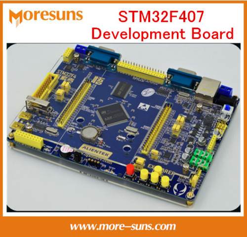 Fast free shipping STM32F407 development board STM32F4 M4 exceed ARM7 51 430 SCM