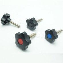 TF01002 M10x50xl  Plastic knob ,plastic lobe