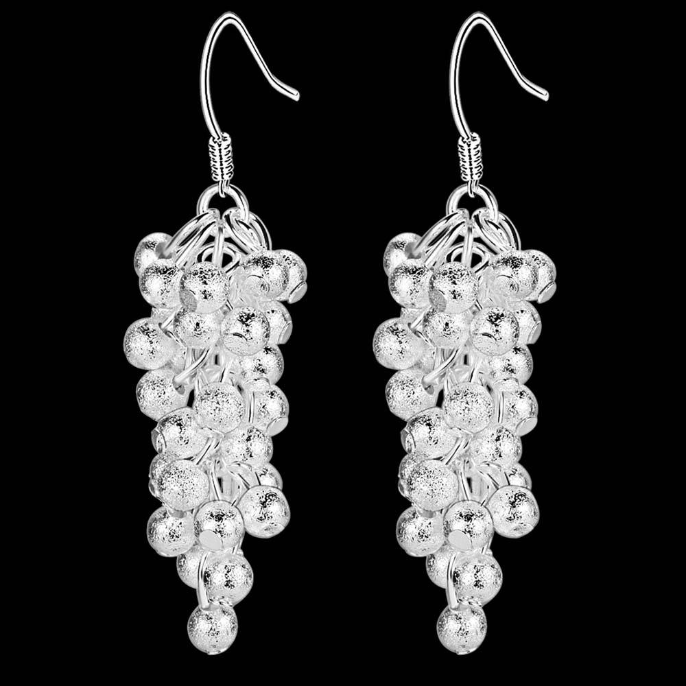 Fashion Silver Jewelry Charms Costume Jewelery Earrings For Women Wedding  Bridal Earrings Hanging Accessories For Jewelry
