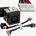O envio gratuito de new laptop dc power jack connector cable para dell inspiron 15r n5050 n5040 m5040 p/n: 50.4ip05.101