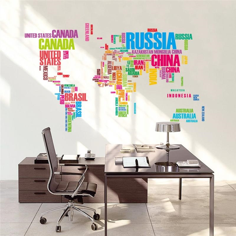 World map country wallpaper design 2 multi colored 122cm x 74cm gumiabroncs Choice Image