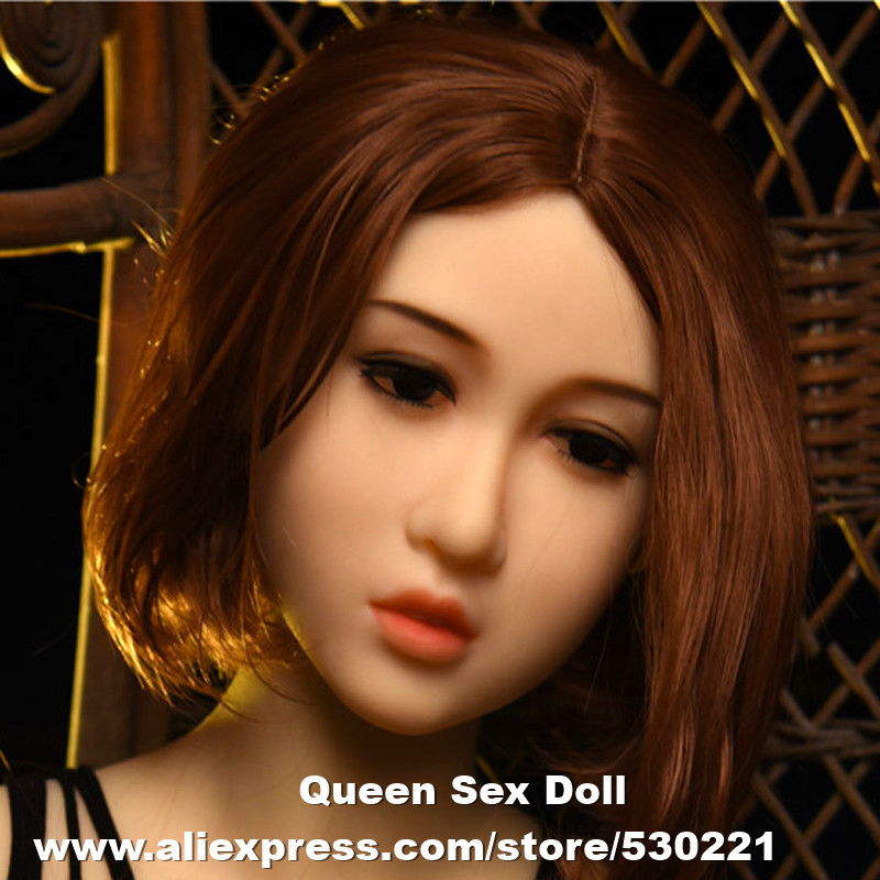 Top quality #73 sex doll head for silicone dolls, sexy doll, love dolls heads, life size sex products