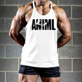 Wholesale Modern Trend Men Bodybuilding Stringer Tank Tops ANIML Letter Printed Undershirt Muscle Vest Boy Clothings