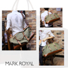 MARKROYAL Canvas Leather Men Travel Bags Carry on Luggage Bag Men Duffel Bags Handbag Travel Tote Large Weekend Bag Free Shipping 10