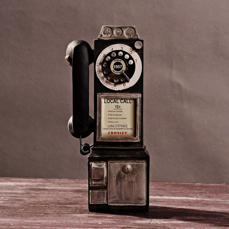 free shipping black color telephone model antique looking resin phone mold resin artcraft coffee. Black Bedroom Furniture Sets. Home Design Ideas