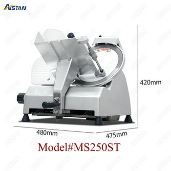 MS300ST Electric Semi-automatic commercial meat slicer/meat cutter machine for restaurant 2