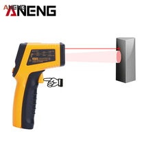 High Precision IR Digital Infrared Thermometer Non-contact Temperature Tester Laser Gun Pyrometer Range -55~600C termometro