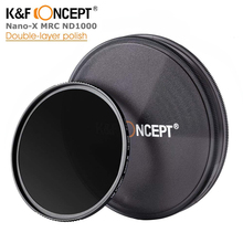 K&F CONCEPT Slim ND1000 52/58/62/67/72/82mm ND filter Lens Multi-Coated Glass Neutral Dens