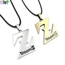 Anime Peripheral Pendant Necklace Dragon Ball Z Necklace Saiyan Logo Vintage Accessories Jewelry collier collar collana
