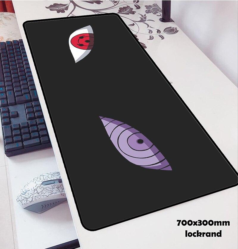Tapis de souris Naruto 70x30 cm tapis à souris tapis d'ordinateur notbook souris tapis de souris de jeu professionnel gamer à clavier tapis de souris
