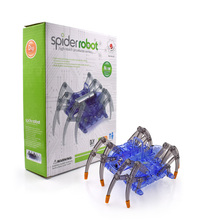 Electric Spider Robot kit DIY Educational Intelligence Development Assembles Kids Children Puzzle Action Kits