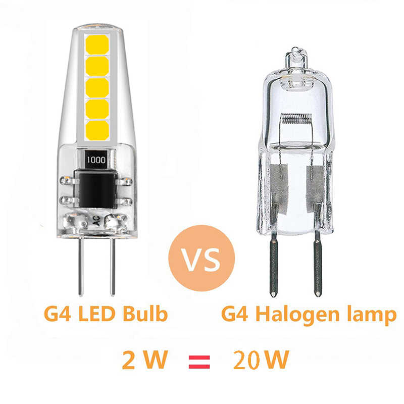 Angle Replace G4 Light Lampara 10led 230v Bulbs Lampada Beam 2835smd 6pc Led 20w Bulb 2w Lamp Ampul Halogen 220v 360 wO8nPX0k