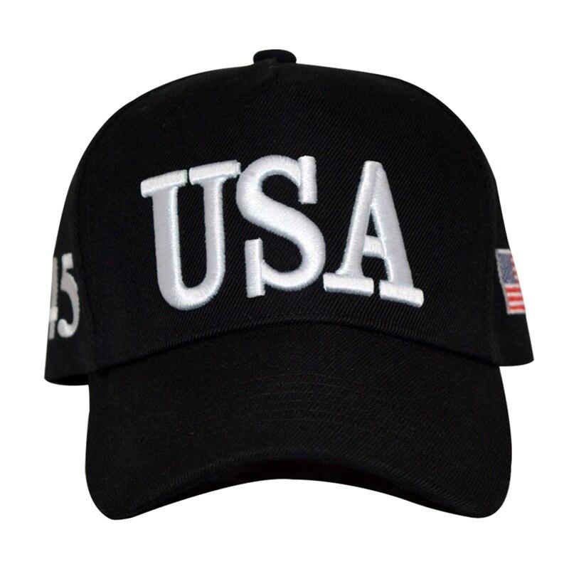Womens Baseball Cap Hat Adjustable Snap Back Cap Men USA Hip Hop Caps Trump Cap Hat Wholesale