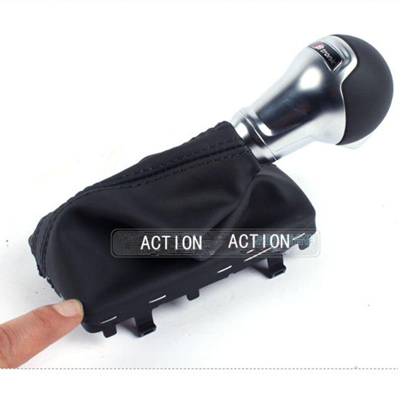 OEM original leather DSG S TRONIC Gear shift knob FOR AUDI A3 2014 2015 8VD 713 139