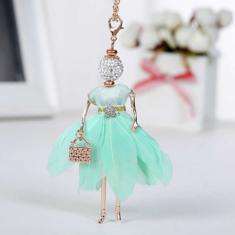 ec31d626bec82 Detail Feedback Questions about Statement Feather Doll Necklace ...