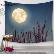 18 style Moon tapestry wall hanging decor  wall hanging  tree tapestry  medieval  medieval  college dorm  farmhouse home decor