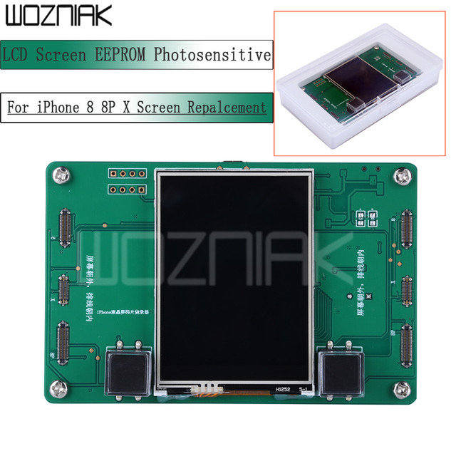 LCD Screen EEPROM Photosensitive Data Programmer Reading Writing Backup Programmer  For iPhone 8 8P X  Screen Repalcement