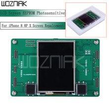 LCD ekran EEPROM işığa veri programcı okuma yazma yedekleme programcısı iPhone 8 8P X için ekran değiştirme