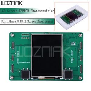 Image 1 - Màn Hình LCD EEPROM Cảm Quang Dữ Liệu Lập Trình Viên Đọc Sách Viết Dự Phòng Lập Trình Viên Cho iPhone 8 8P X Màn Hình Repalcement