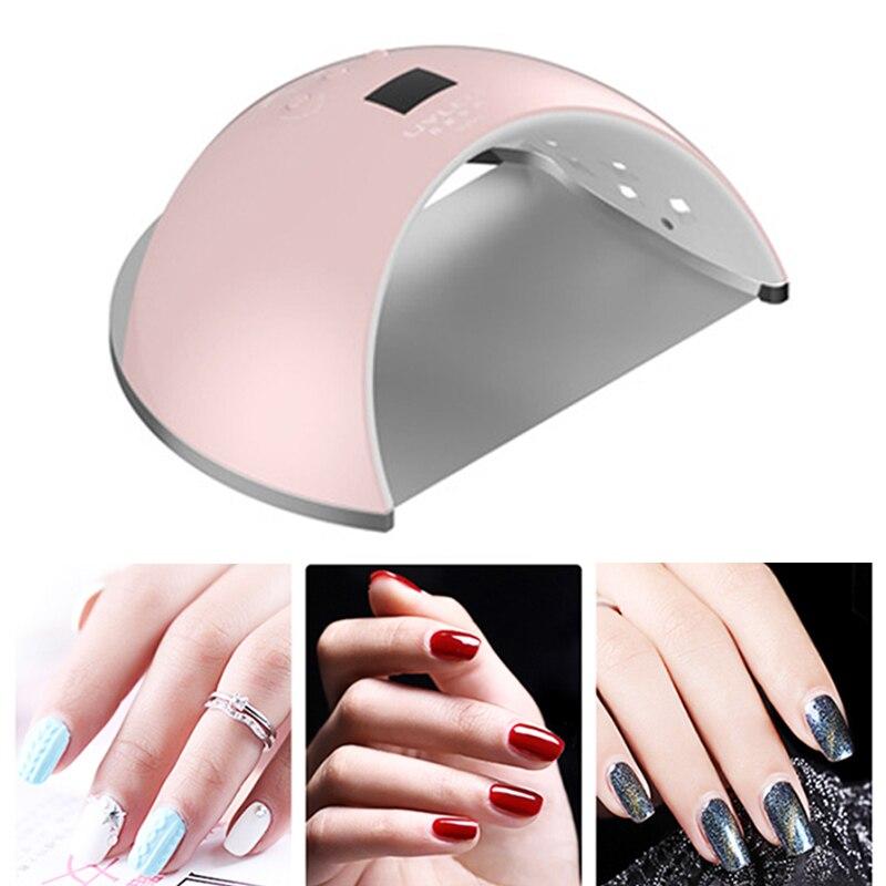 Sèche-ongles professionnel 48 W UV lampe à LED pour tous les Types lampe UV Gel pour Machine à ongles durcissant outil de manucure sèche-ongles
