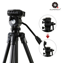 Aluminum Tripod 20″~40″Studio Stand For DSLR Camera Smart Phone Shooting Video