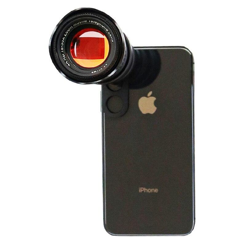 ORBMART 18x 30x 4K HD Fisso Zoom Teleobiettivo Telescopio per Smartphone Del Telefono Mobile Lente di Clip Universale Senza Vignettatura - 5