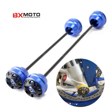For BMW S1000XR 2015-2017 S1000RR 2010-2017 S1000R 14-17 HP4 Motorcycle Front & Rear Wheel Fork Axle Sliders Cap Crash Protector