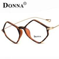 Donna New Prescription Eyewear Frames Union Rhombus Style Eyeglasses For Men Womens Eyeglass Frame 44mm Lozenge