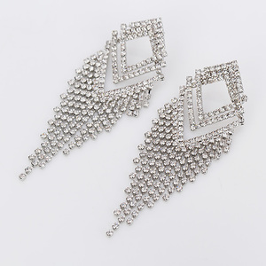 YFJEWE женские модные австралийские серьги с кристаллами элегантные серебряные серьги Свадебные украшения для вечеринки # E257