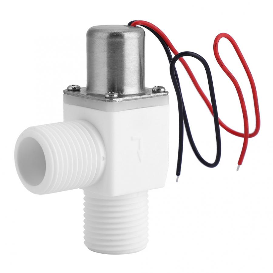 Plastic Electric Pulse Solenoid Valve For Water Control 3.6VDC 1/2