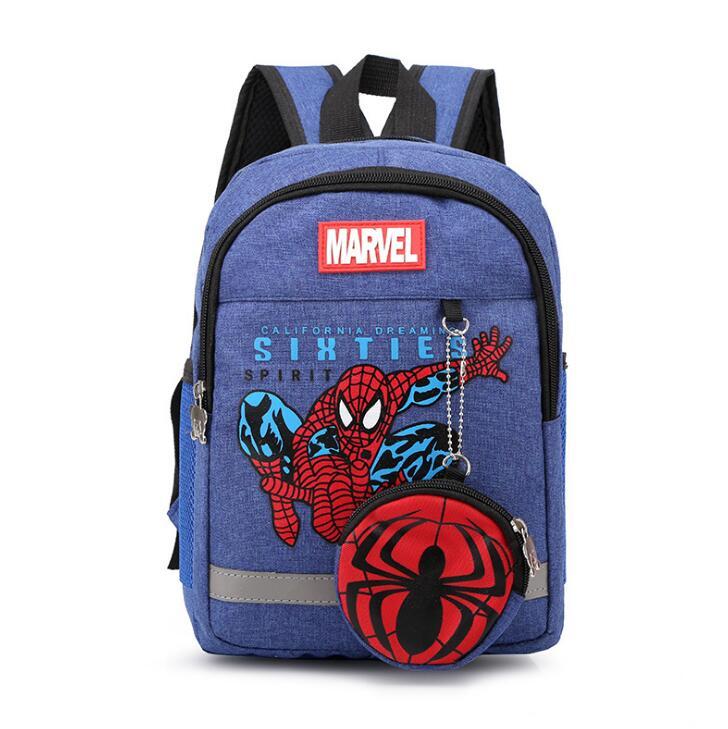 New Fashion Spiderman Children School Bags Cartoon Backpack Baby Toddler Kids Book Bag Kindergarten Boy Girl Backpack