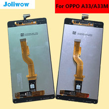 High quality For OPPO a33 a33M  5 LCD Display +Touch Screen Digitizer lcd Glass Assembly Replacement цена