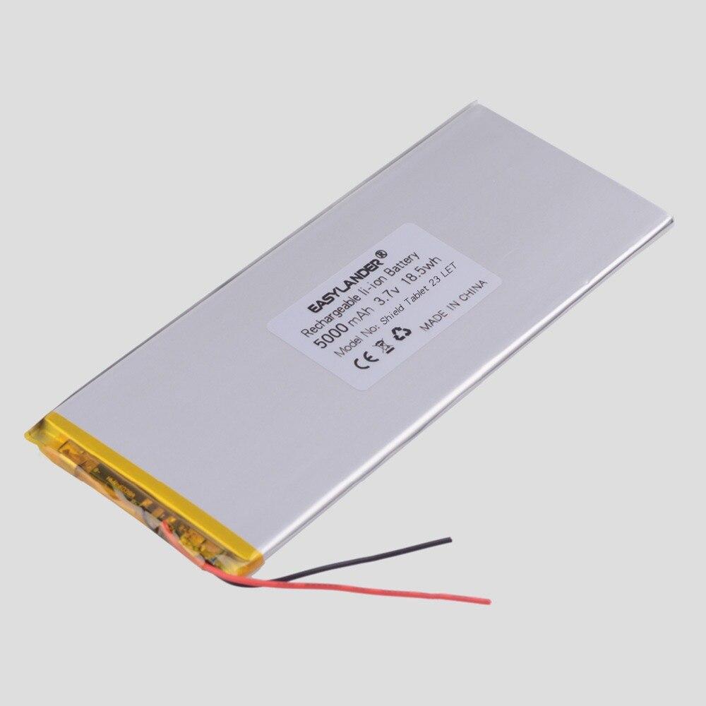 3.8 V 3.7 V 5000 mAh PLIB polímero de íon de lítio/bateria de Iões de lítio Para tablet pc NVIDIA Escudo Tablet 23 LTE Nvidiashield K1 8 ''Tablet