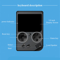 Coolbaby Handheld Console - 3.0 Inch Color LCD - 168 Games Included 2
